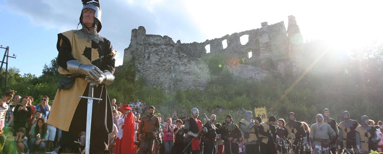 Program srednjovjekovnog viteškog turnira na Jankovcu