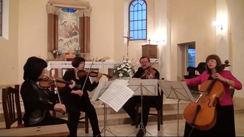 Gudački kvartet Rucner održao koncert u župnoj crkvi u Čačincima