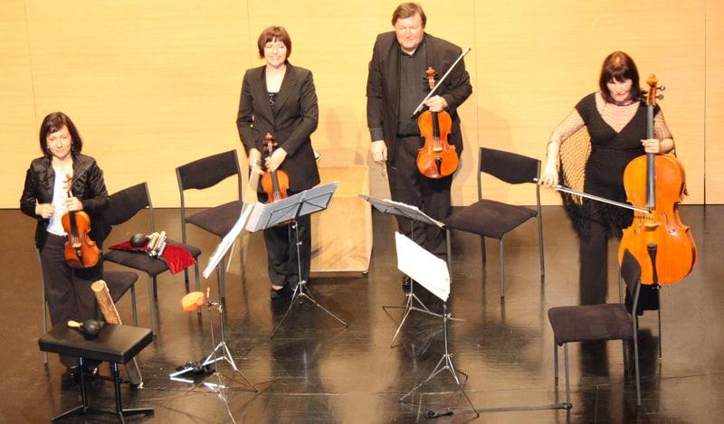Koncert gudačkog kvarteta Rucner u Čačincima