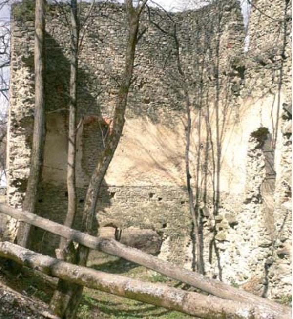 Srednjovjekovna utvrda Klak
