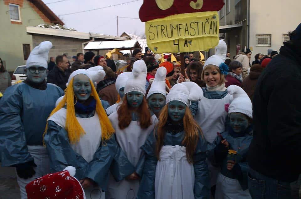 Čačinačke maškare 2014.