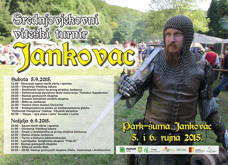 Srednjovjekovni viteški turnir na Jankovcu 05.i 06.09.2015.