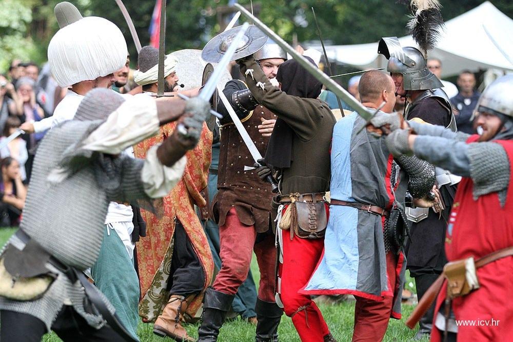 U Park šumi Jankovac održan 3. srednjovjekovni viteški turnir