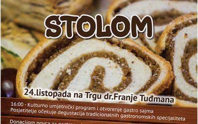 "Gastro sajam ""Za bakinim stolom"" 24. listopada"