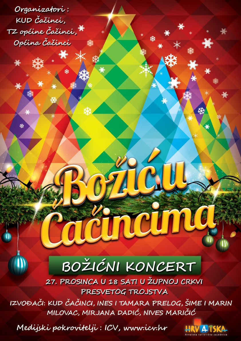 Božićni koncert u Čačincima