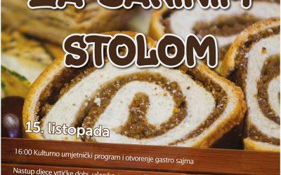 """Kulturno-gastronomska manifestacija """"Za bakinim stolom"""" i ove godine u Čačincima"""
