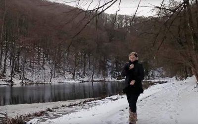 "U Park šumi Jankovac snimljen spot za pjesmu Andreje Gribl ""Zagrli me ove zime"""