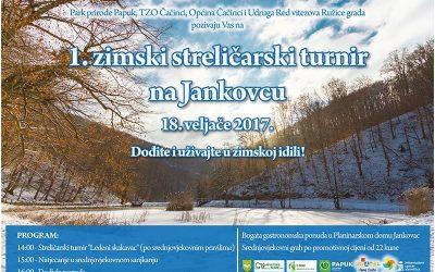 Zimski streličarski turnir na Jankovcu-obavijest o novom terminu