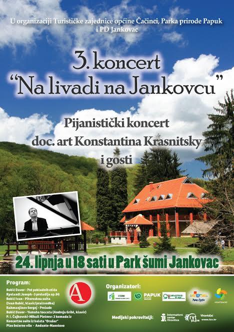 """Najava za 3.koncert """"Na livadi na Jankovcu"""""""