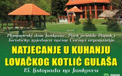 Natjecanje u kuhanju lovačkog kotlić gulaša na Jankovcu