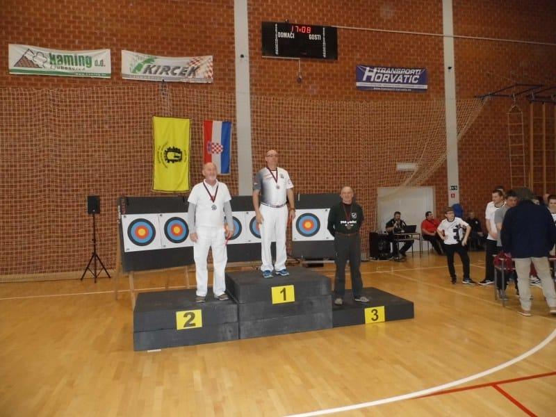 Naši streličari opet donijeli medalju s Državnog dvoranskog prvenstva