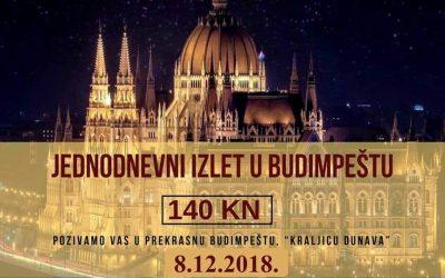 Jednodnevni izlet – Advent u Budimpešti