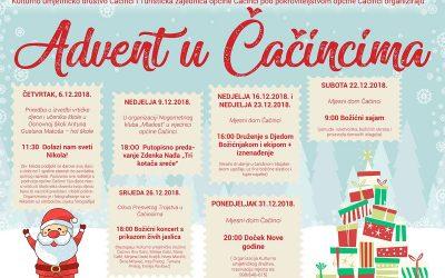 Program događanja za prosinac 2018.